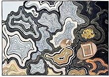 European Style Carpet Fashion Teppich Wohnzimmer Decke Sofa Couchtisch Teppich Nachttischdecke ( größe : 120*170cm )