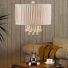 European - Style Crystal Lampe Schlafzimmer Bedside Lampe American Kreative Mode Wohnzimmer Lampe Hochzeit Dekoration Einfache Modern