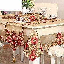european-style Gartentisch Stoff Tischdecke Tuch