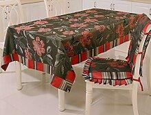 European Style Jacquard Tischdecke High-End-Tischdecke Tischdecke Esszimmer Tisch Mat ( größe : 130cm*180cm )