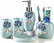 European Style Resin 5Pc Badezimmer- und