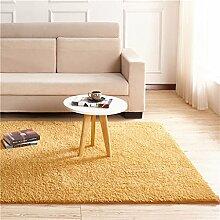 European Style Teppich Wohnzimmer Schlafzimmer Couchtisch Home Decke Bedside Mats Decke Teppich (Khaki) ( größe : 80*200cm )
