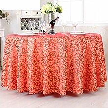 European-Style Tischdecken/Garten-Tischdecke/Tischdecke decke/ decken Handtücher/Tischdecken/Tischdecke decke/Hotel Dining Table Cloth-B Durchmesser200cm(79inch)