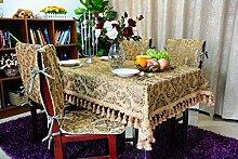 European-style Tischdecken/Kaffee Tischdecke/Tabelle Tuch/Tischdecke-A 140x190cm(55x75inch)
