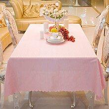 European-Style Tischdecken/Tischdecken/Rosa
