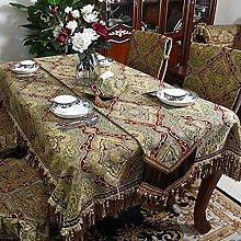 European-style tischdecken/tischtuch/längliche tischdecke/stuhl home,quadrat,tischtuch-A 140x200cm(55x79inch)
