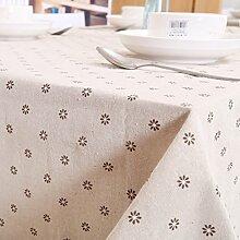 European-style-tuch/tischtuch/tv-tisch tuch/aus baumwolle und leinen tischdecken-B 140x250cm(55x98inch)