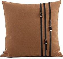 European-Style Umarmung Kissenbezug/Plüsch Kissen Liner/Sofa-Bett Umarmung Kissenbezug-B 45x45cm(18x18inch)