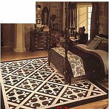 European-Style Wollteppich/Wohnzimmer Sofa und Schlafzimmer Nachttisch Teppiche/ Teppich die Villa-Eingang-Studie-G 120x170cm(47x67inch)