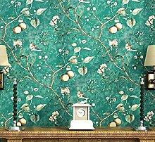 Eurotex Selbstklebende Tapete mit Pfirsichbaum und