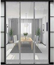 Eustoma PVC-Kunststoff-Magnet-Screen-Tür,