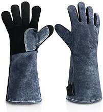 EUYIMOMO gartenhandschuhe,Grill hitzebeständige