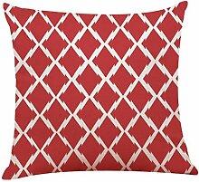 EUZeo Pillowcase Klassischer Einfachheit