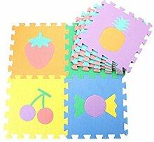EVA Platten Futurepast 10 Stück Kinder Puzzle