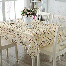 EVA Tischdecke/Wasser Und Öl Beweis Einweg-tischdecke/Teetisch Matten/PVC Tabelle Tuch Tischdecke-E 137x90cm(54x35inch)