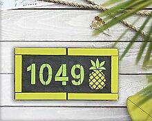 Evan332Eddie Schild Hausnummernschild Hausnummer