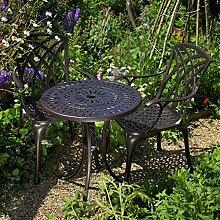 Eve 60cm Bistrotisch - 1 Eve Tisch + 2 APRIL