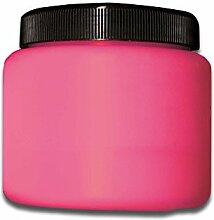 Eventlights NEON Farbe - UV Leuchtfarbe - Wandfarbe - Bastelfarbe - Schwarzlicht (500 ml, rot)