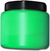 Eventlights NEON Farbe - UV Leuchtfarbe - Wandfarbe - Bastelfarbe - Schwarzlicht (500 ml, grün)