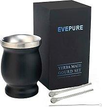 Evepure Gourd and Bombilla Trinken Yerba MateTee -