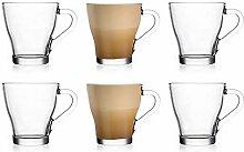Ever Rich ® Latte Glas Tee Kaffee Tasse Tasse