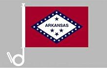 Everflag Auto-Fahne: Arkansas - Premiumqualitä