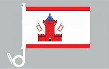 Everflag Auto-Fahne: Bad Segeberg - Premiumqualitä