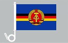 Everflag Auto-Fahne: DDR Volksmarine für