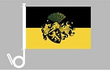 Everflag Auto-Fahne: Gera - Premiumqualitä