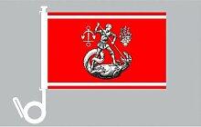 Everflag Auto-Fahne: Heide - Premiumqualitä