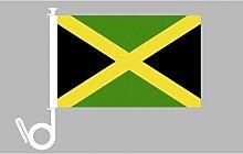 Everflag Auto-Fahne: Jamaika - Premiumqualitä