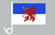 Everflag Auto-Fahne: Pommern - Premiumqualitä