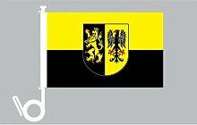 Everflag Auto-Fahne: Vogtland - Premiumqualitä