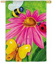 Evergreen Bug Konferenz Flagge (Garten Größe)