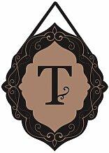 Evergreen Classic Monogram T Sackleine
