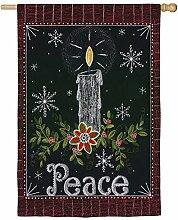 Evergreen Enterprises 13s3526fb Peace Kerze Garten