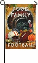 Evergreen Food, Family, Fußball Thanksgiving