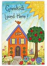 Evergreen Wildleder Grandkids Loved Hier Garten