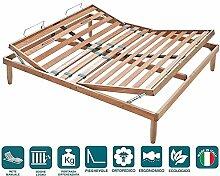 EvergreenWeb–Doppelbett Lattenrost aus Holz