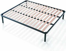 EvergreenWeb - Bett Lattenrost 180x200 Doppelbett