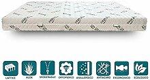 EvergreenWeb Latexmatratze mit 7-Liegezonen und