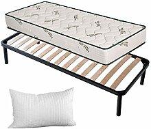 Evergreenweb 💚 Set Bett Lattenrost + Matratze