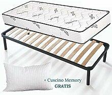 EvergreenWeb - Set Bett Lattenrost und Matratze