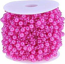 Everpert 60m Angelschnur Perlen Kette Perlenkette