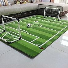 Everyday Home- Baby-Fußballplatz-Spiel-Wolldecke