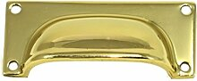 EVI herrajes 3050/70–Griff, Möbelgriff, Finish Nickel satiniert (Messing)