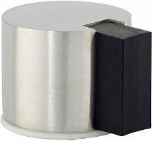 EVI herrajes i-193/24-DOOR STOP, selbstklebend, Finish matt Inox (Edelstahl, 24mm)