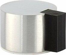 EVI herrajes i-193Verbundstoff/28–Door Stop, selbstklebend, Finish matt Inox (Edelstahl, 28mm)
