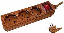 Evila-Grundlage Multiple Holz 3T. mit Schalter
