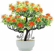 Evmho Künstliche Pflanze, PVC,